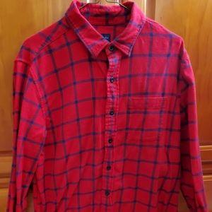 American Eagle flannel button down